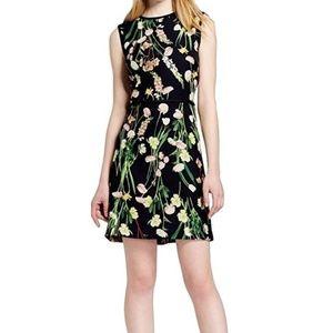 Victoria Beckham for Target floral satin dress